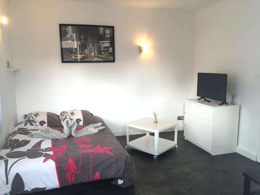 T1 + jacuzzi charmant - Proche Biarritz - Bidart - Apartemen