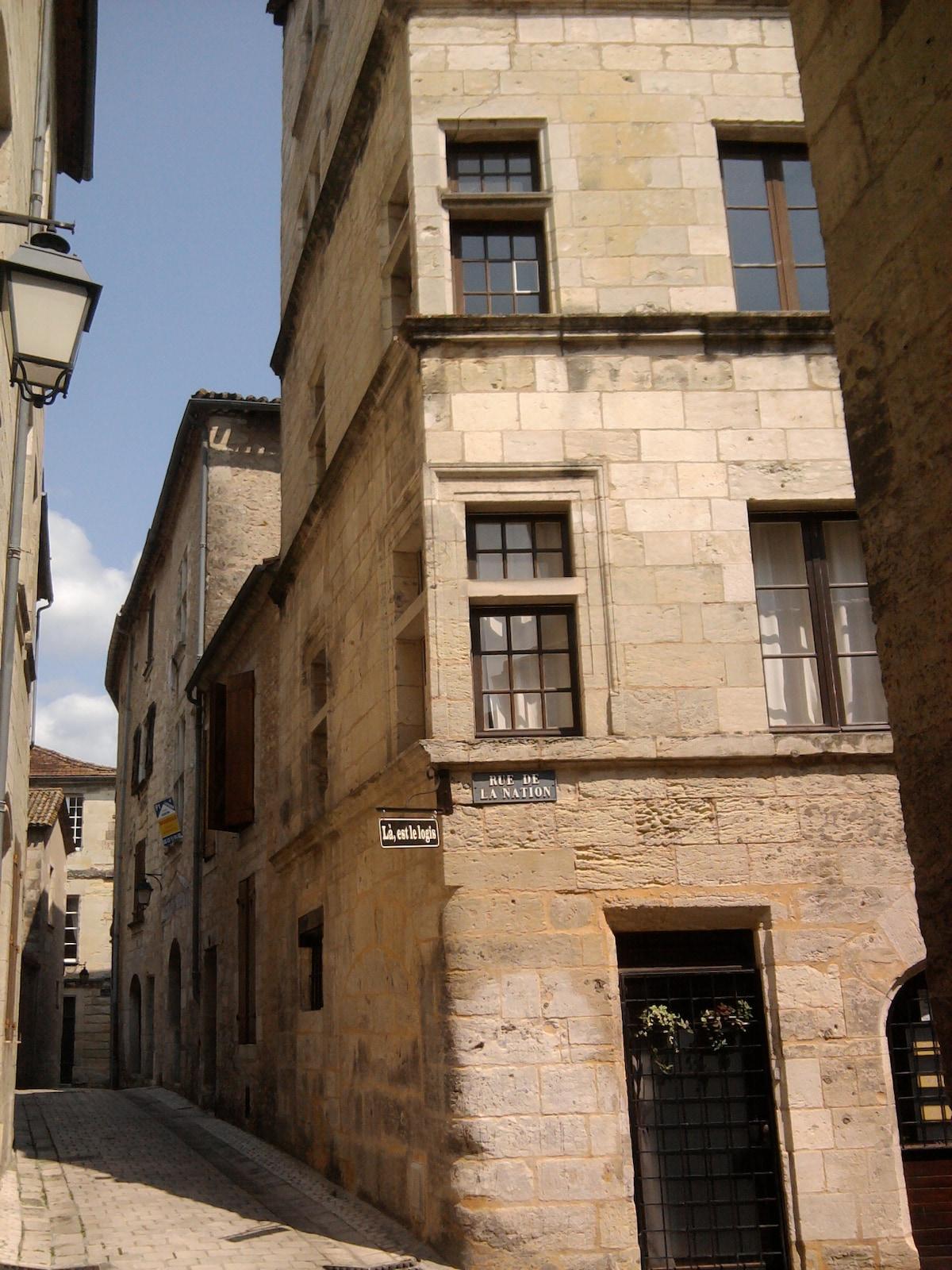 L'immeuble du logis.