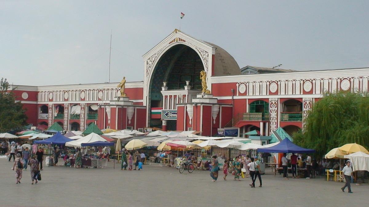 Наш главный рынок Панчшанбе