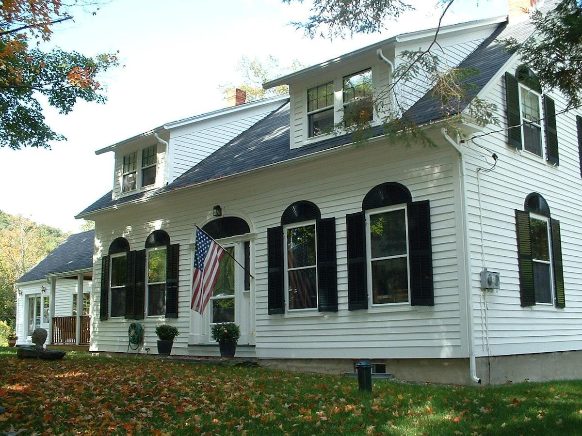 European-Style Villa in Vermont