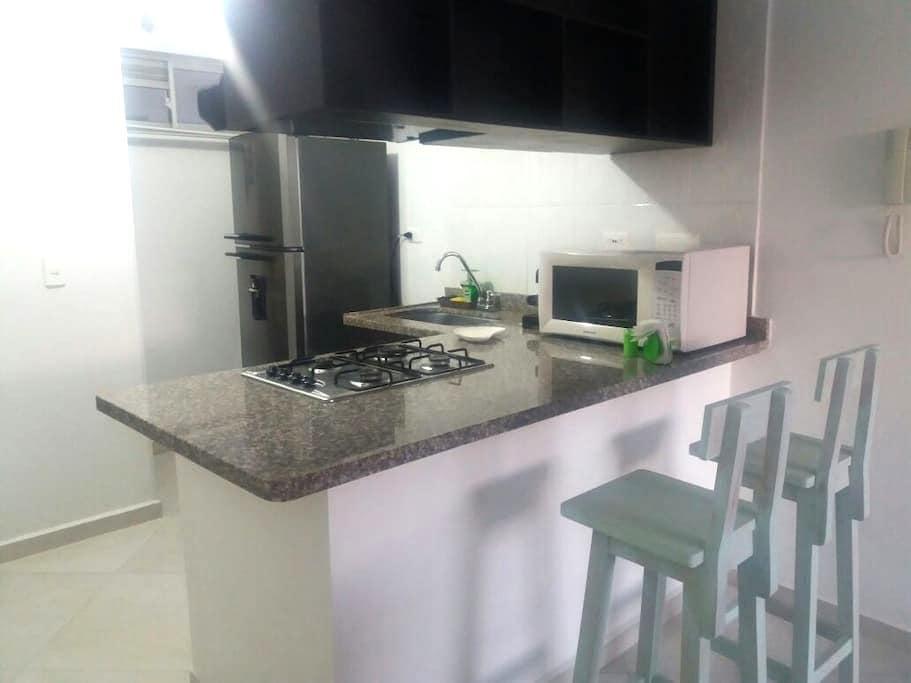 Apartamento 2 habitaciones - San Gil - Flat
