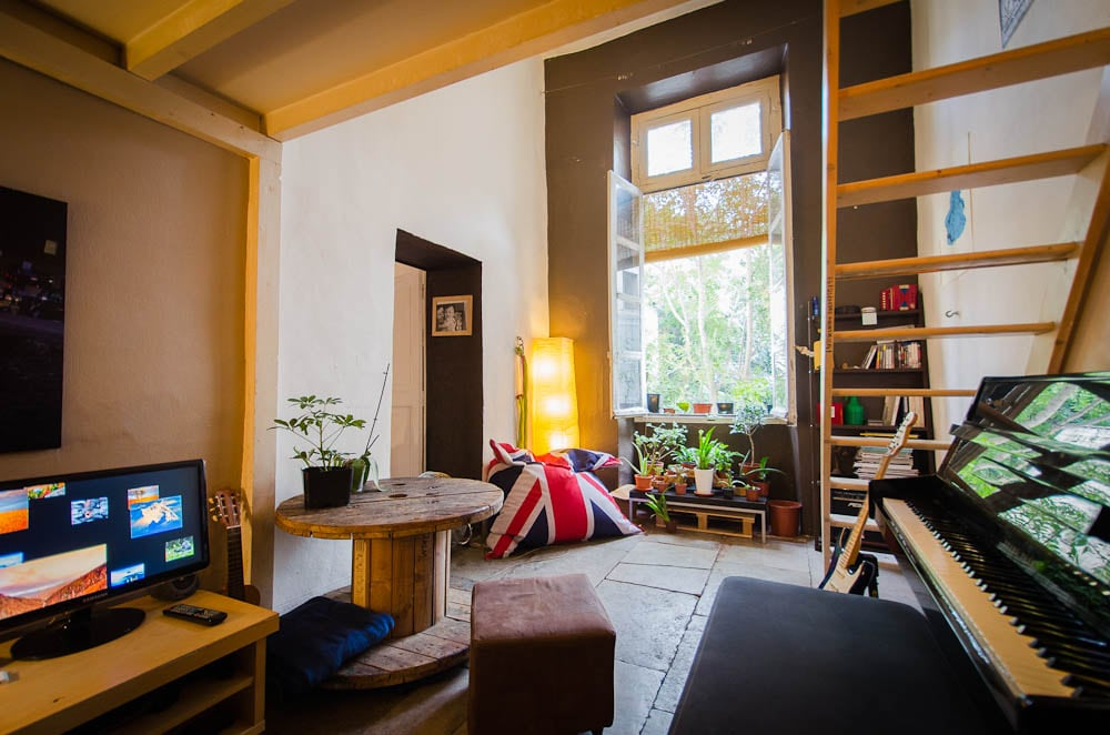 A charming loft in the old city