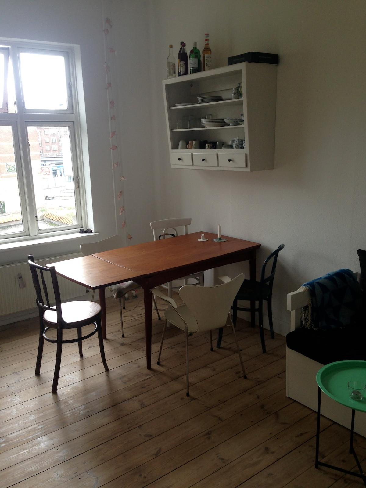 Nice apartment in Copenhagen