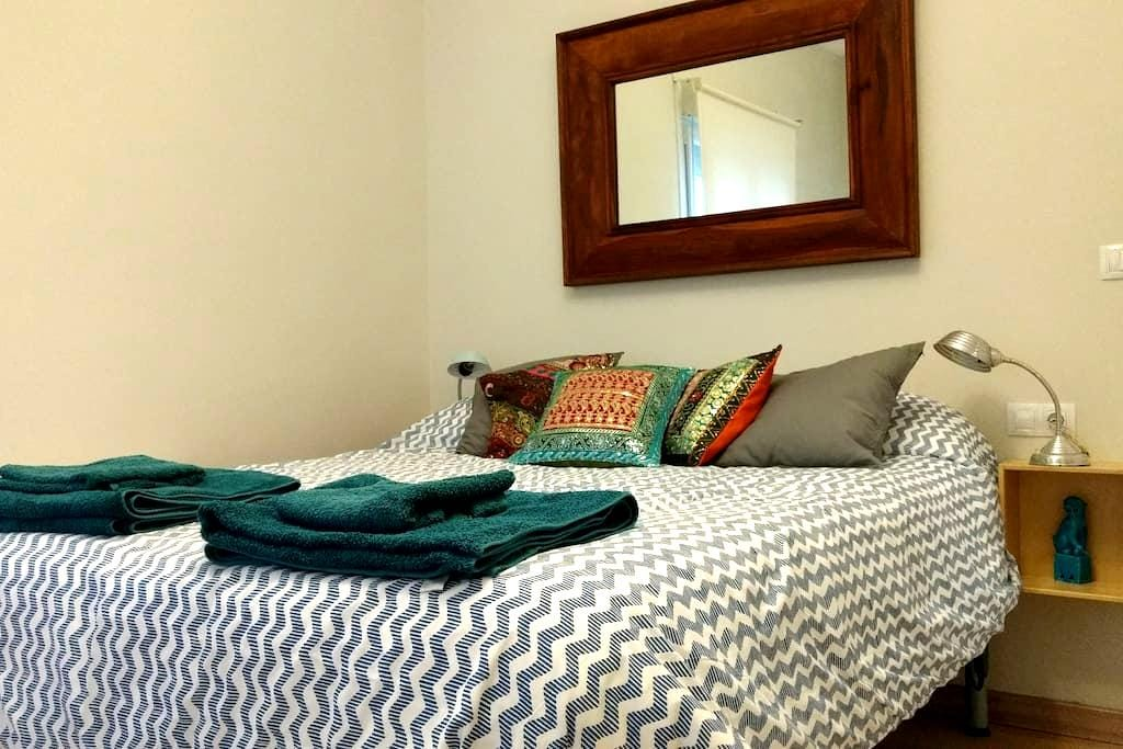 Queen size bed 300 metres away from the Guggenheim - Bilbo - Apartment