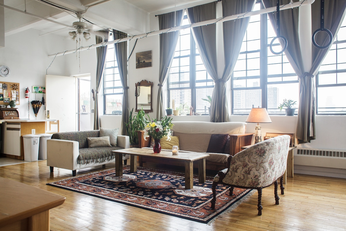 Brooklyn Rooftop Loft Event Space