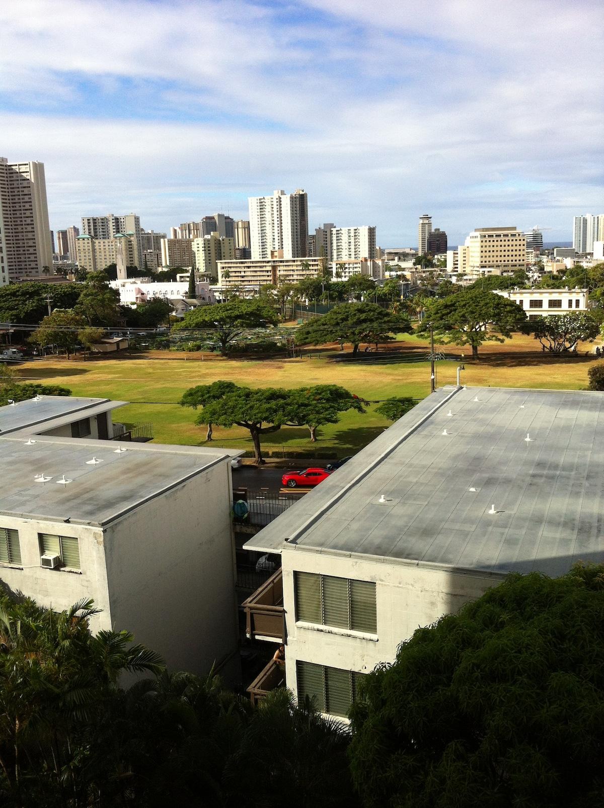 Private bedroom in Honolulu