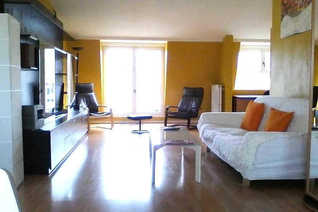 Room in penthouse in city centre - Bruxelles - Appartement