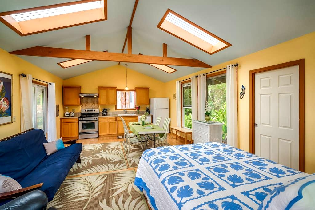 Rainforest Blue Ginger Cottage - Pāhoa
