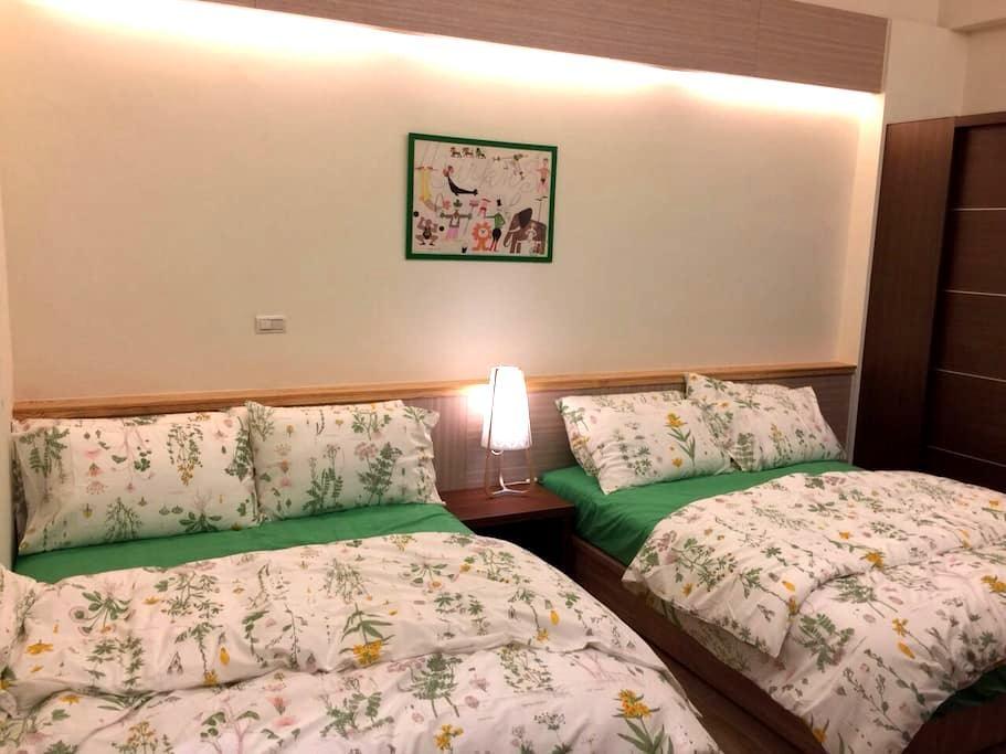 自在悠閒15坪四人房-B,新竹香山交流道三分鐘,是竹苗區旅遊的好選擇! - Xiangshan District - House