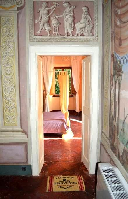 Suite in historic Villa, center of Bagni di Lucca - Bagni di Lucca