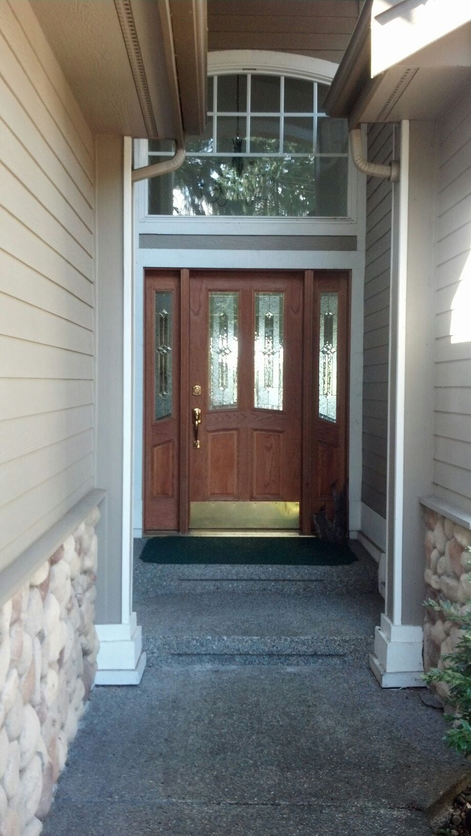 Welcome! You may use this main floor entrance or your private entrance as you like.