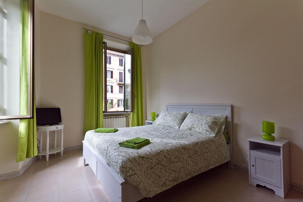 CENTRAL bedroom wifi & BREAKFAST