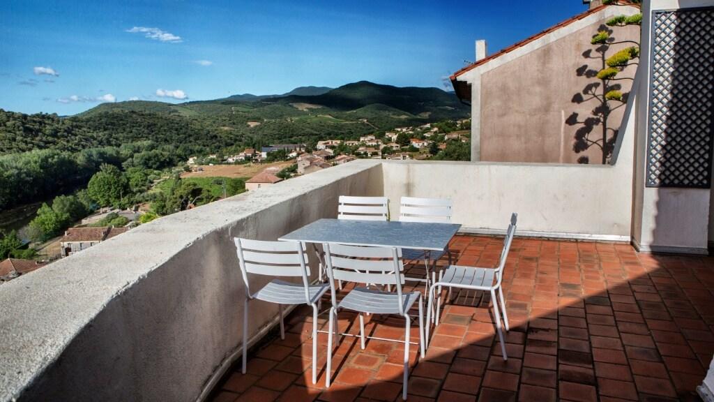 Roquebrun Panoramic