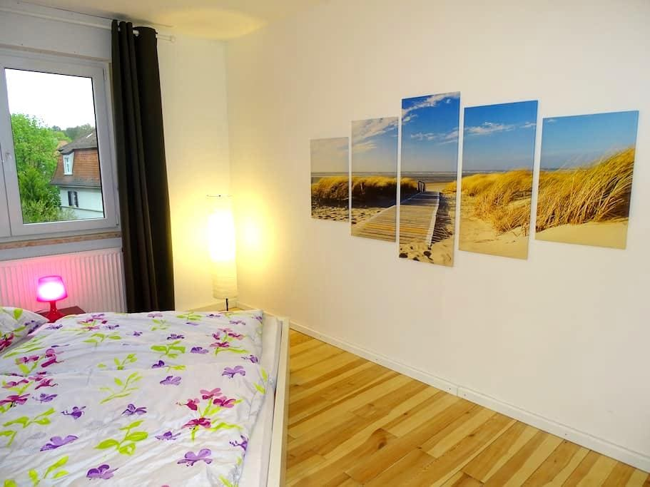 Great city apartment with balcony in a good loc. - Bamberg - Apartemen