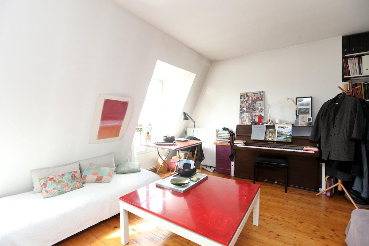 private room in the center of Paris