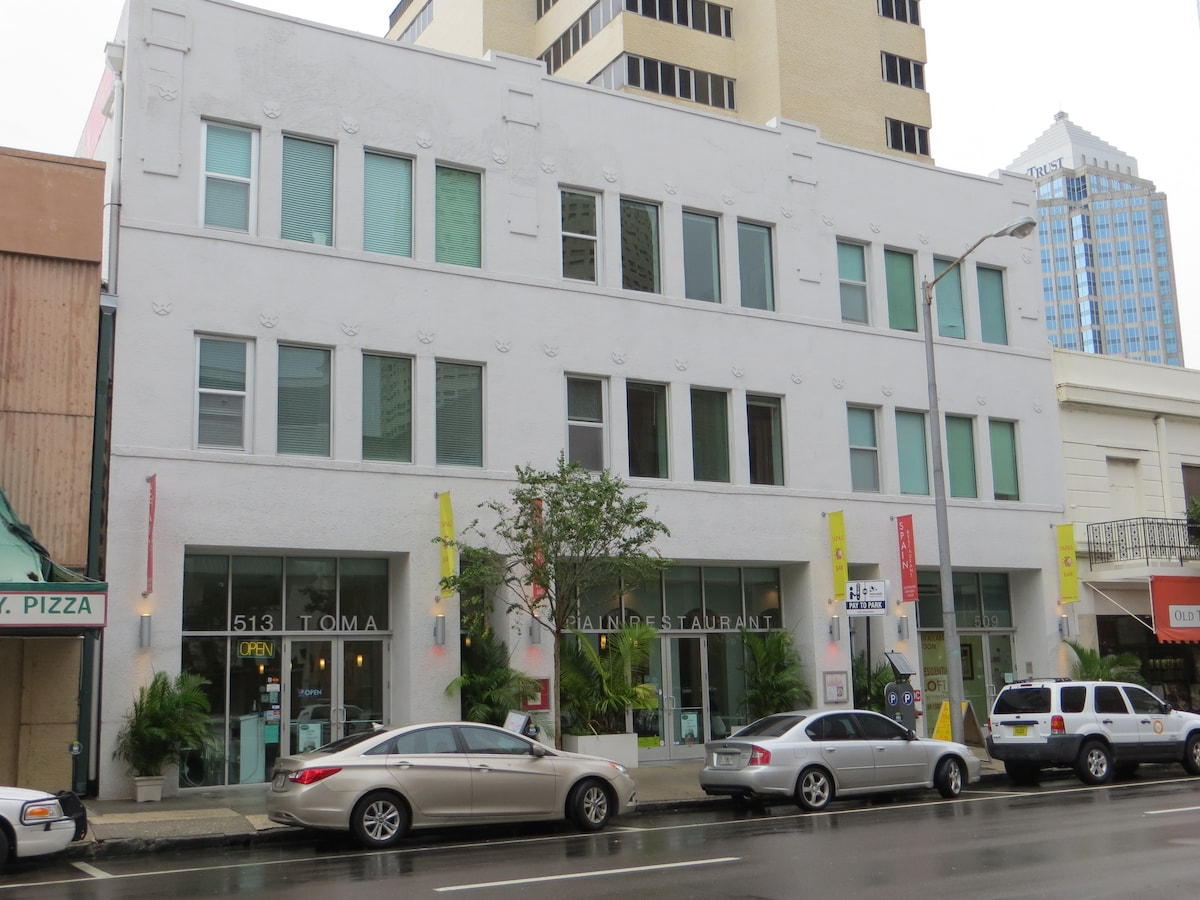 Loft located in the heart of Downtown Tampa