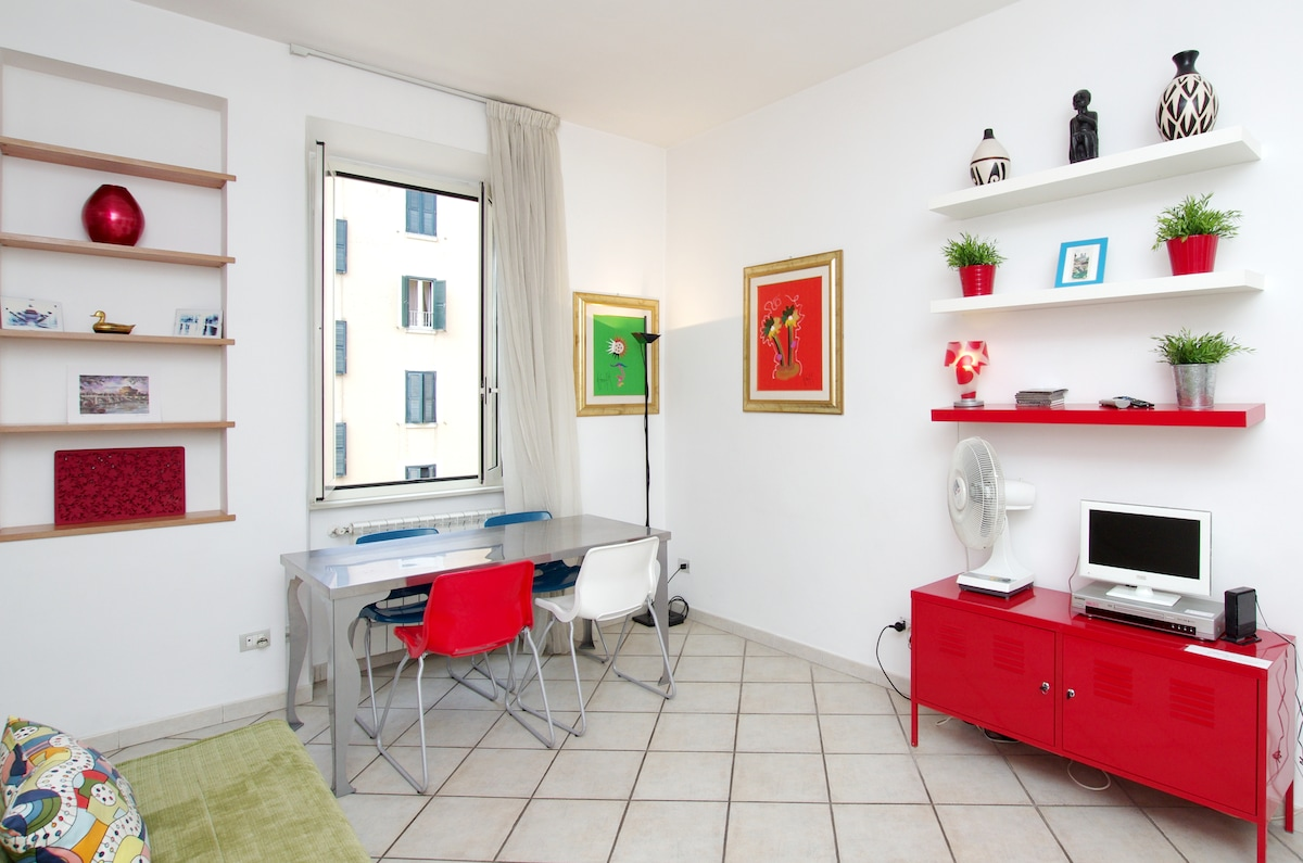 New flat 10 min  from Ancient Rome!