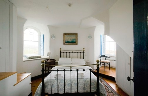 Room with a view- Bedroom 1 in the Wicklow Lighthouse- (website hidden)