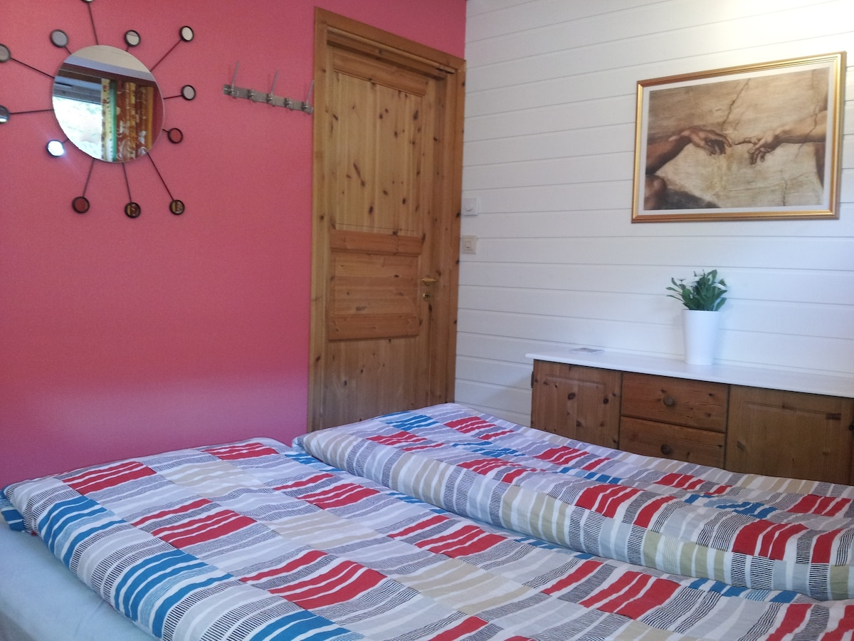 Private Bedroom, with floor heating.(This ad)