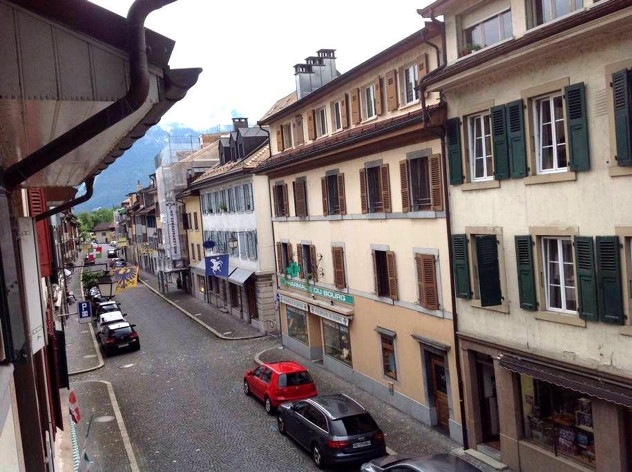 Nice flat near Montreux Jazz Festival ! - Villeneuve - Appartement