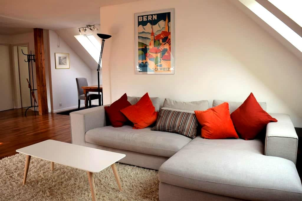 Lovely light flat near the centre and the river - Bern - Apartmen