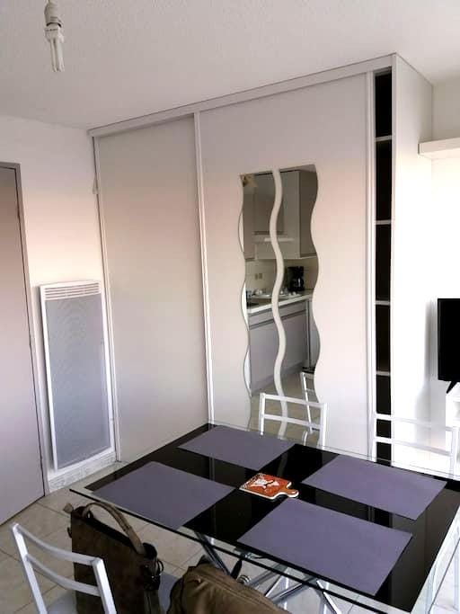 Studio alcove Hardelot plage - Neufchâtel-Hardelot - Appartement