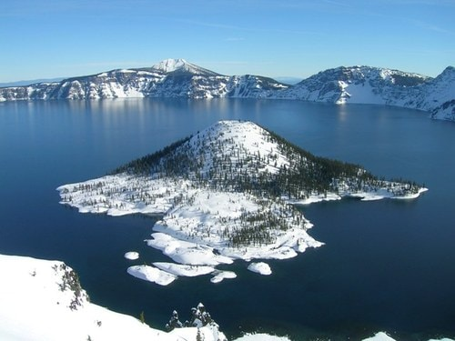 Klamath Falls is known as the gateway to the world famous Crater Lake-deepest in the US,  7th deepest in the world.