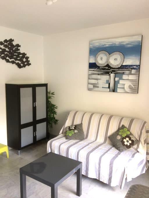 Coquet studio  tout confort - La Grande-Motte - Apartemen