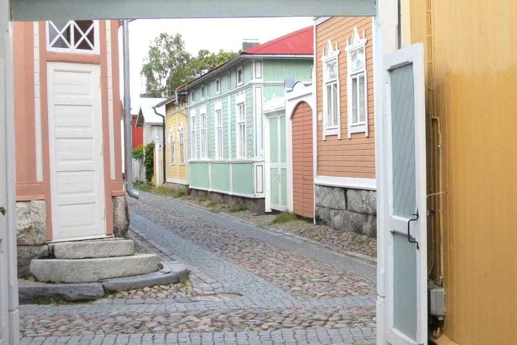 Old Rauma, in Central of Old Rauma - Rauma - Haus