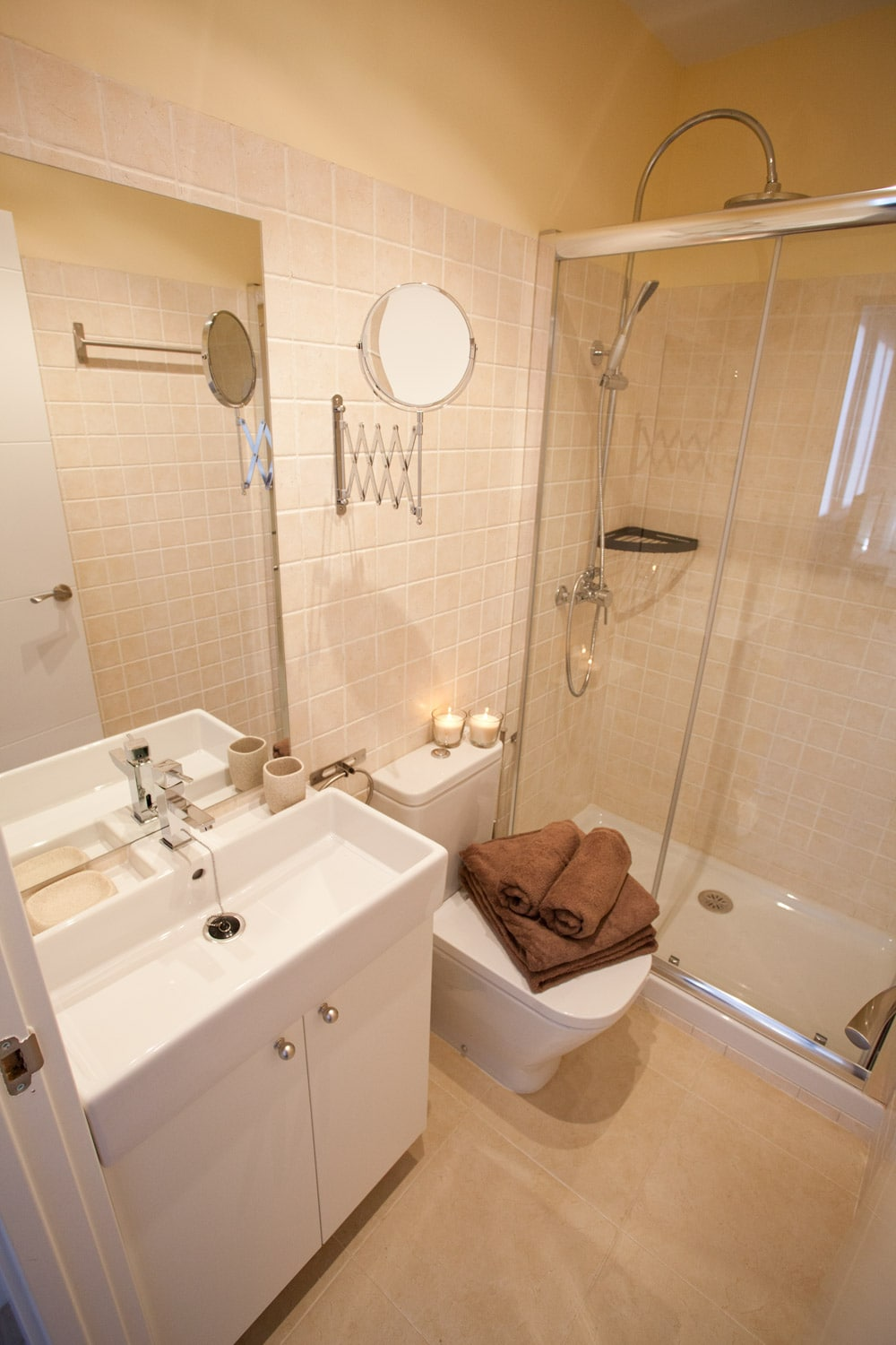 Recent Refurbished BATHROOM , with all amenities and brand new Shower!