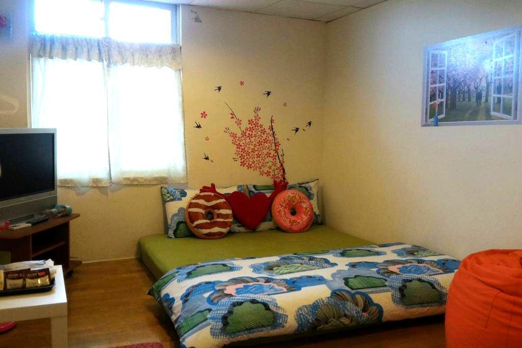 come home b&b 溫馨雙人雅房 房外單獨使用衛浴間 - Ruifang District - Bed & Breakfast