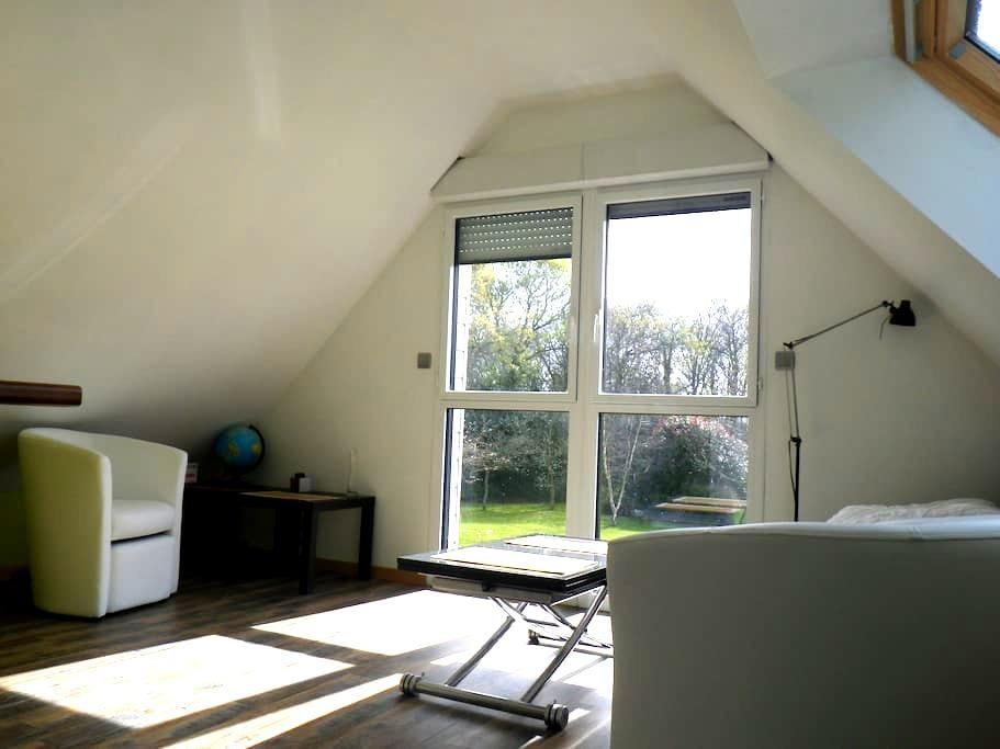Appartement indépendant dans maison particulière - Fouesnant - Apartament