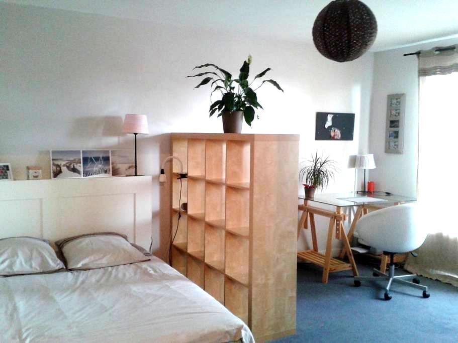 Grand studio lumineux - Nantes - Apartemen