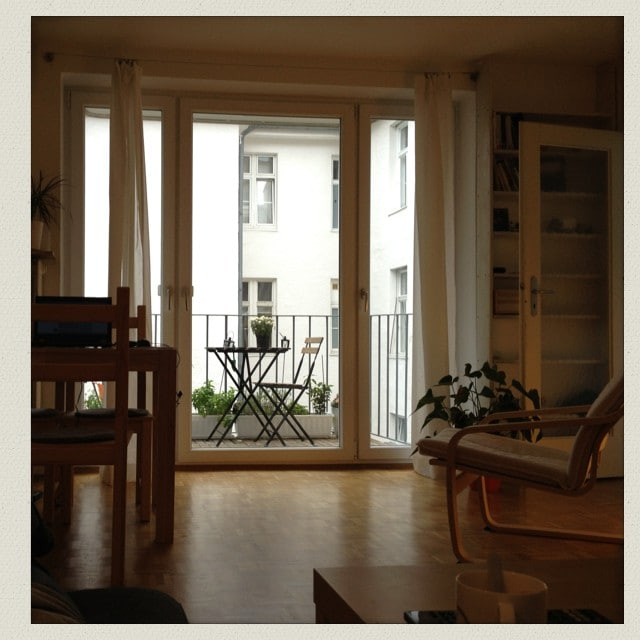 Quiet apartment in Schwabing