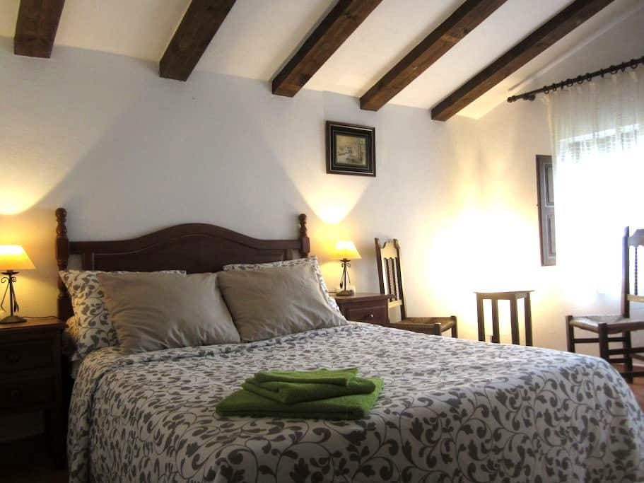 Finca Vegana guest room no2 with en suite bathroom - Bocaleones - Bed & Breakfast