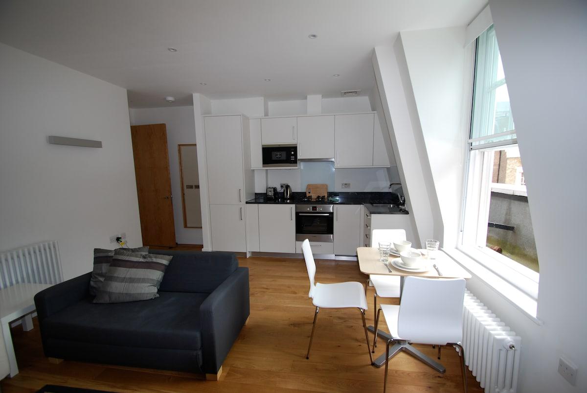 1 bedroom -Tranquil Bloomsbury Gem