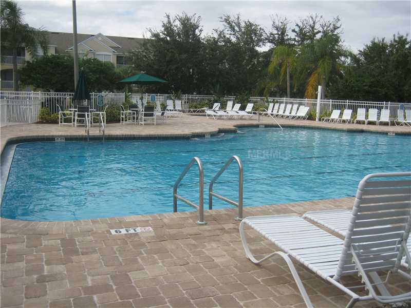 Relax by the pool when you are not at the parks!