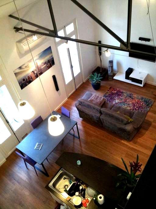 Très beau duplex type loft - Béziers - Apartment