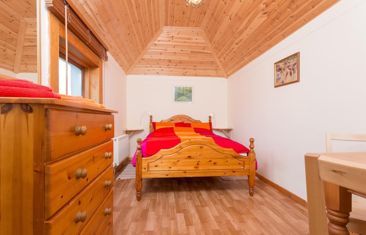 Morning sun bedroom