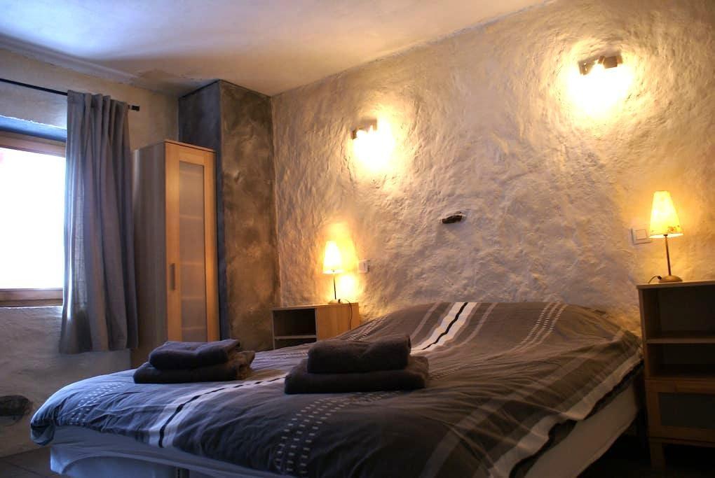 Kamer in een chalet incl. ontbijt - Saint-Martin-de-Belleville - Chalet
