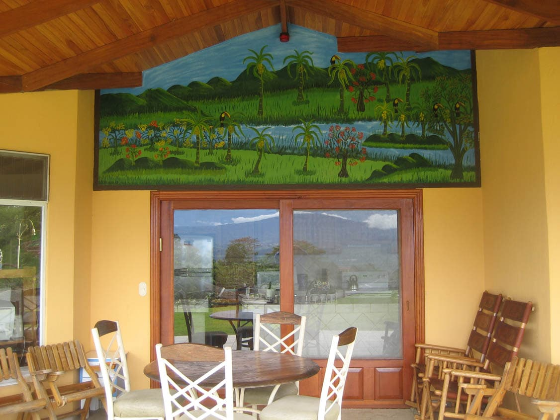 Eat outside and enjoy views of the entire central valley (same view as previous picture)
