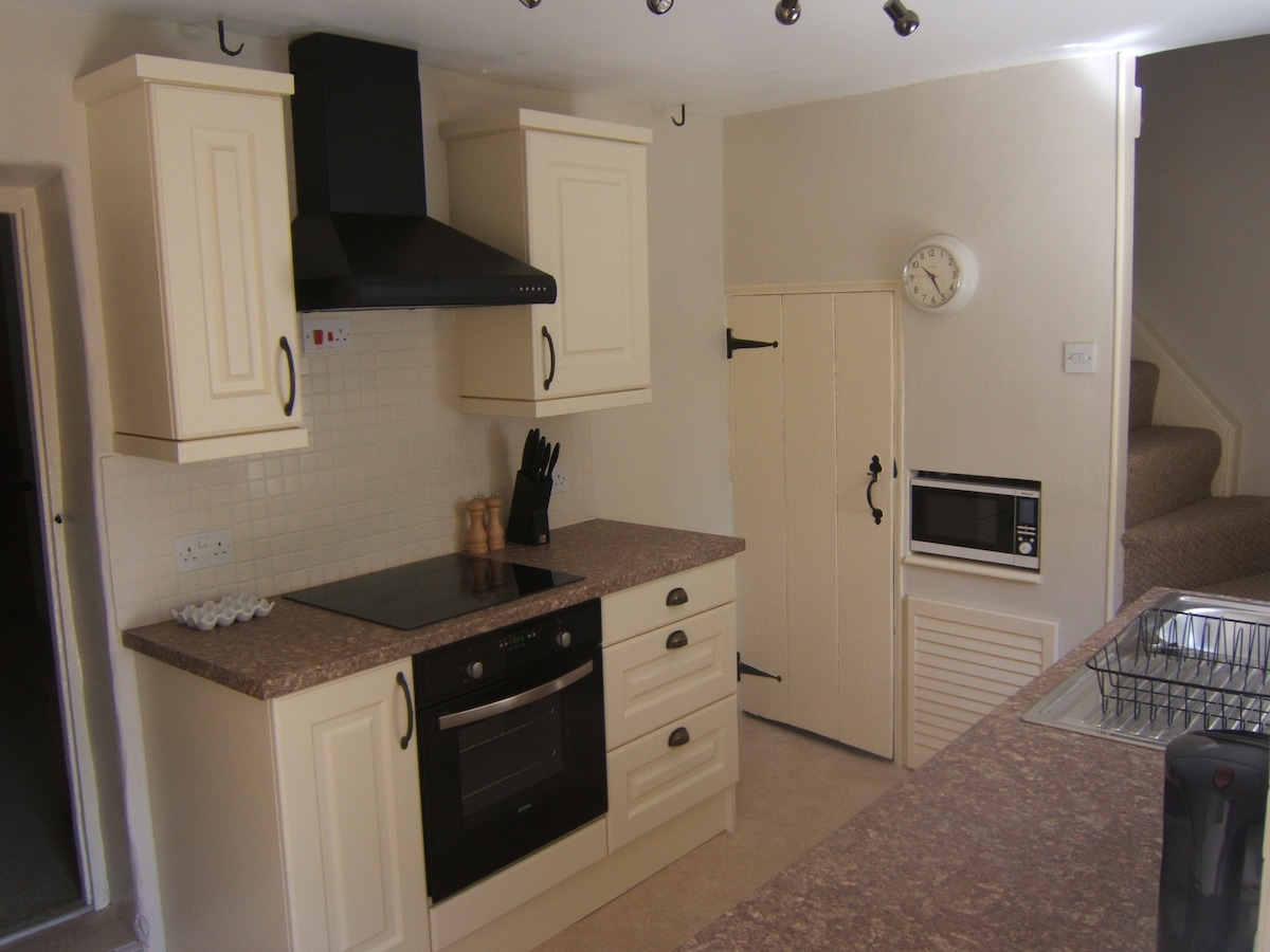 Kitchen - Fully equipped.  Oven, hob, grill, fridge freezer, microwave