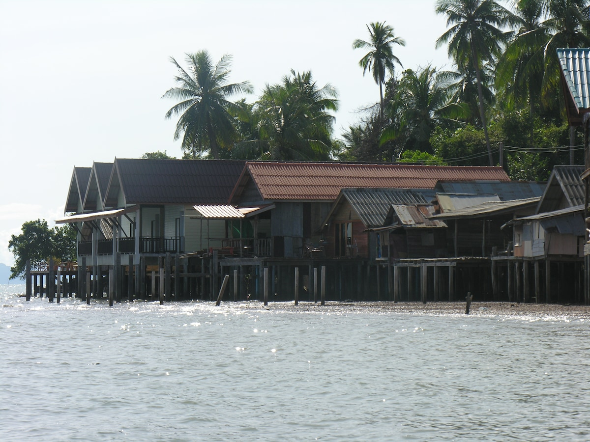 View from sea