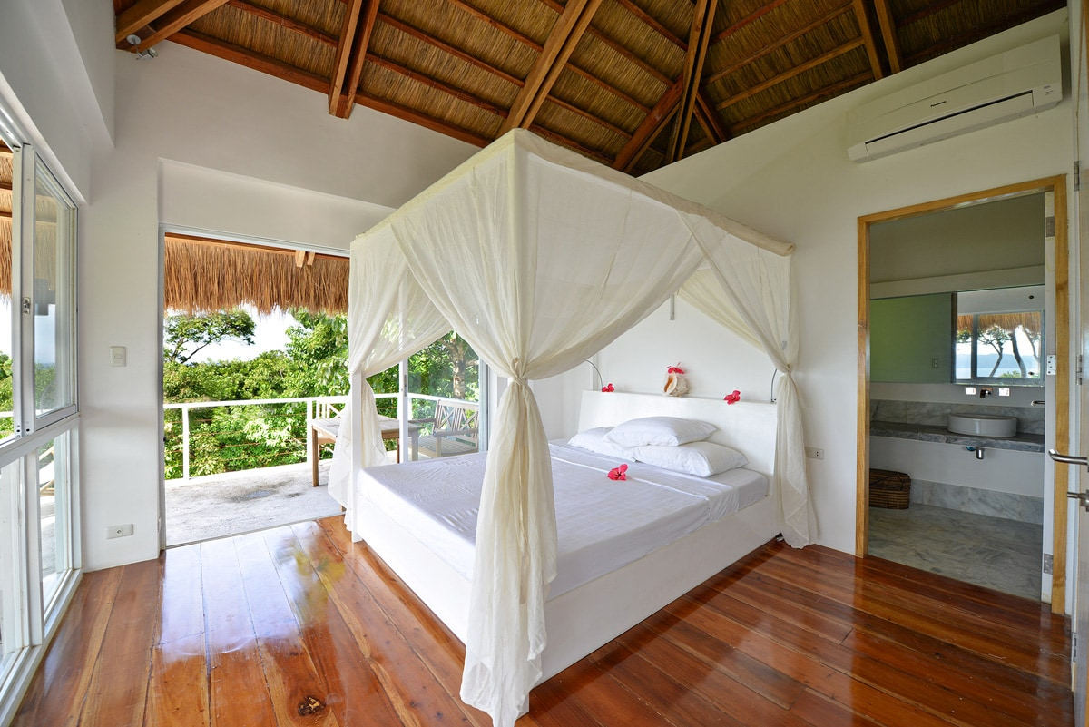 Big bedrooms with private bath