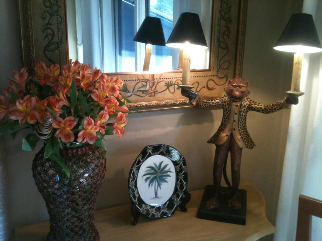 Your Guest Suite features an array of hand-painted tropical, island-themed furnishings