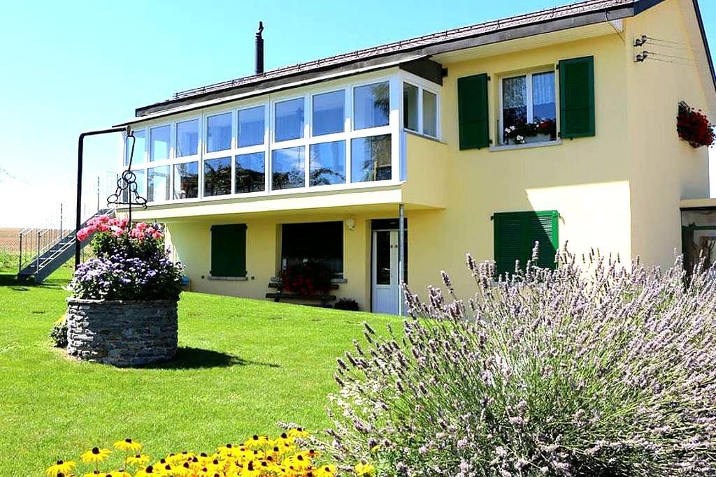 Aux 4 saisons (chambre) - Saint-Prex - Haus