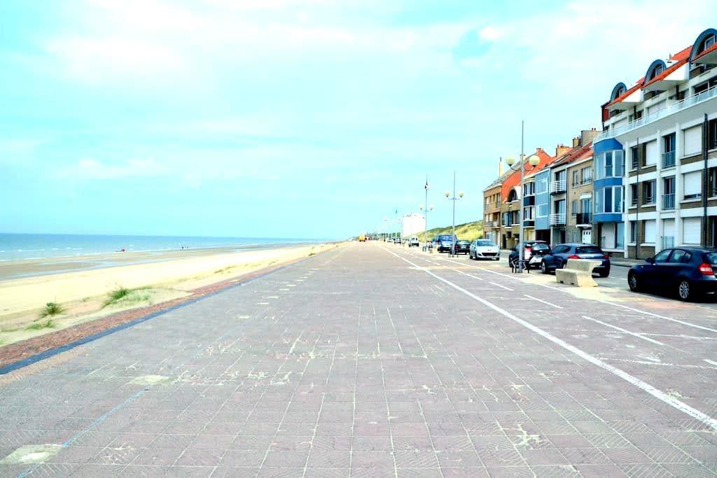 Cabine cosy entre mer et dunes - Leffrinckoucke - Huis
