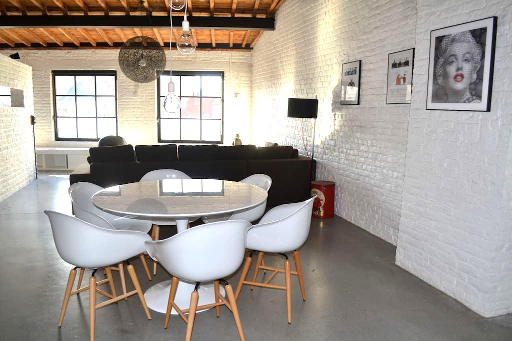 EXCEPTIONAL loFt PentHOUSE +Terrace - Bruxelles - Wohnung