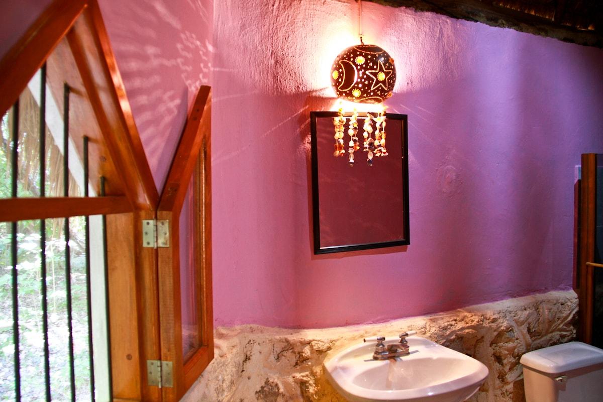Shiva house bathroom also