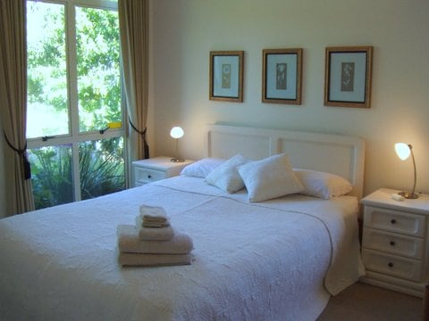 Quality bed in lovely happy home